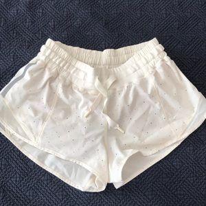 Lululemon Hotty hot shorts confetti colors size 4